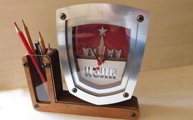 Часы настольные с вашим логотипом