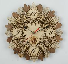 Часы настенные «Ажурные» 100-1