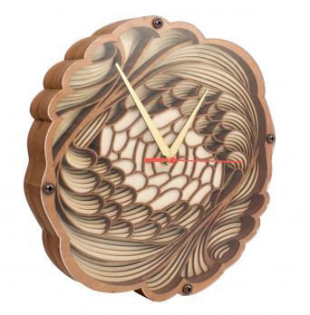 Часы настенные корпус дерево 100-2