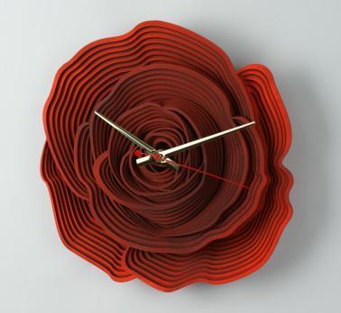 """Часы настенные """"Роза"""""""