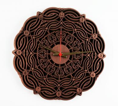 Часы настенные 100-35 Цвет - Медь