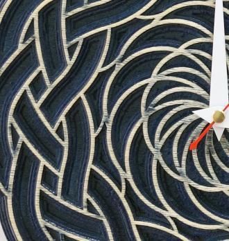 Круглые настенные часы дерево 100-4
