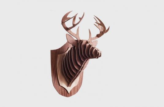 3d модель голова оленя