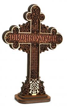 Крест православный обратная сторона