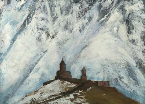 Церковь в ущелье
