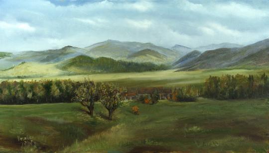 Осенний пейзаж в Армении